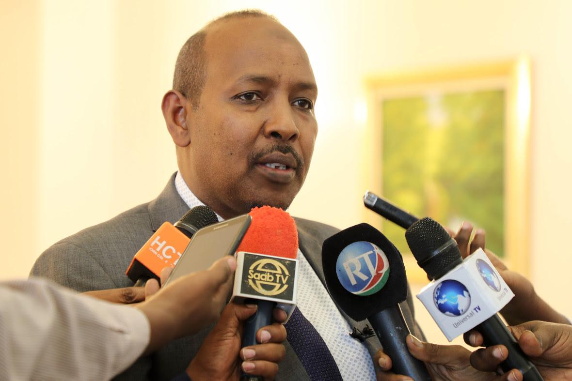 Madaxweynayaasha Somalia iyo Jabuuti oo kulmay-28