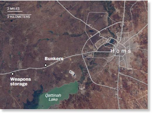 Homs targets
