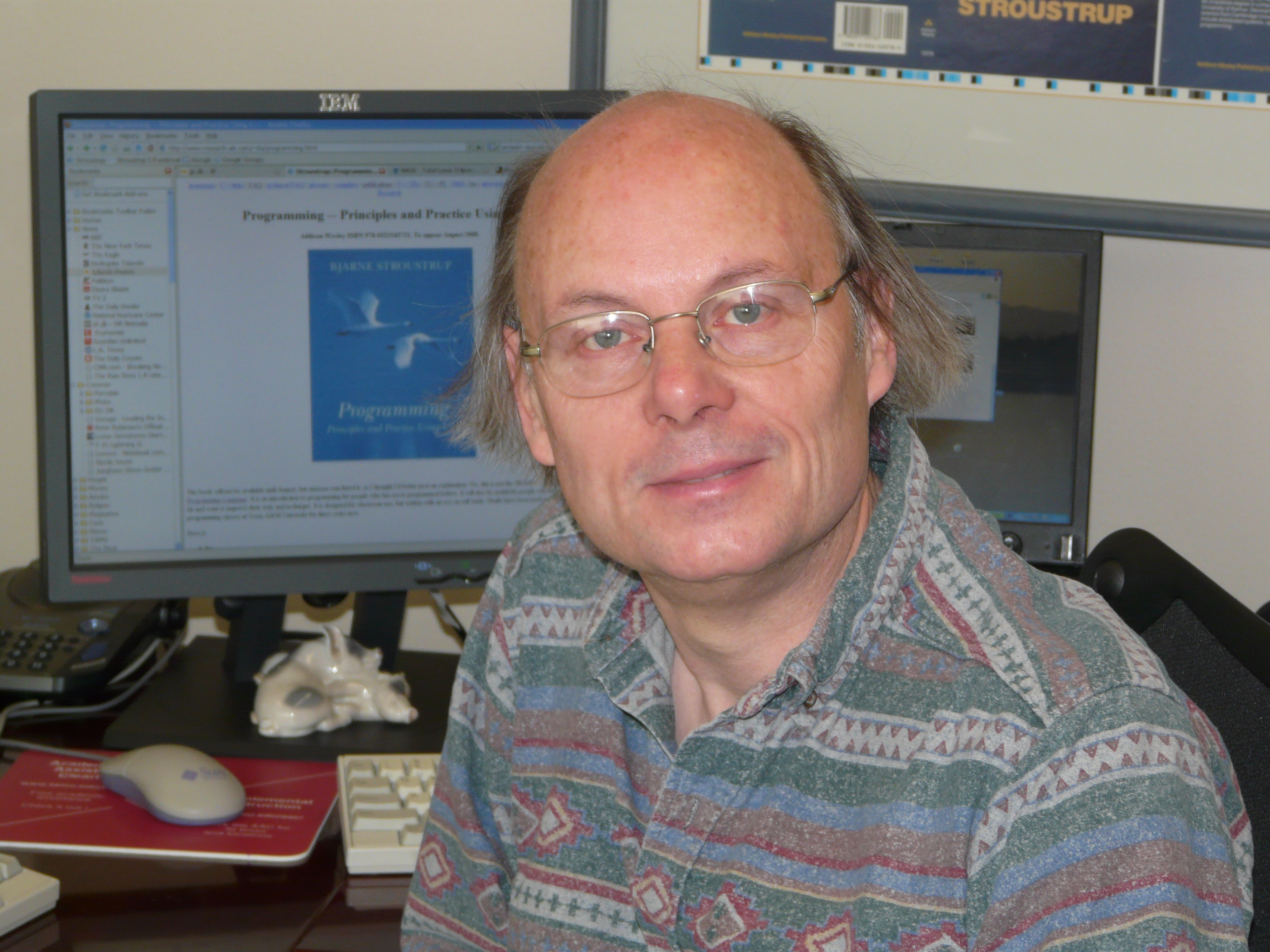 Image result for bjarne stroustrup biography
