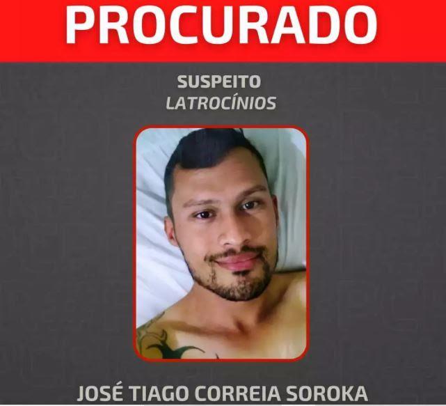 Maníaco se tornando serial killer com 'gosto de matar' é o homem que matou estudante de CG em Curitiba