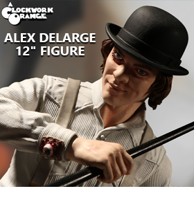 "CLOCKWORK ORANGE ALEX DELARGE 12"" FIGURE"