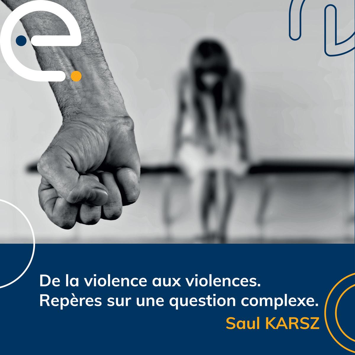 De la violence aux violences. Repères sur une question complexe.
