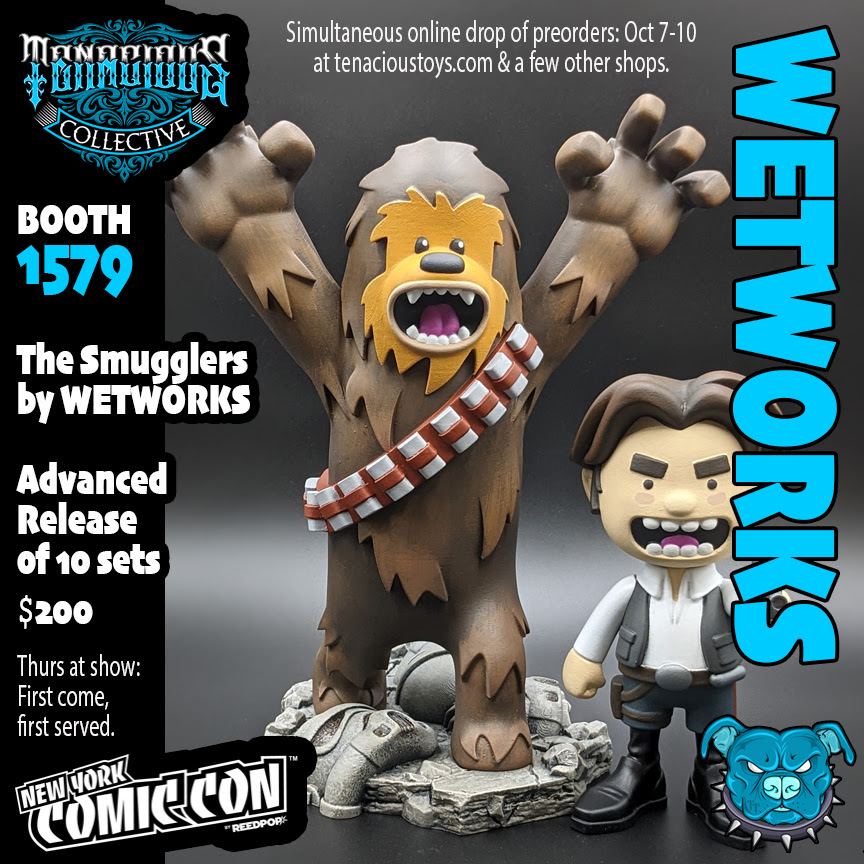 NYCC 2021 flyer Product Smugglers