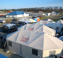 National Disaster Medical System tents