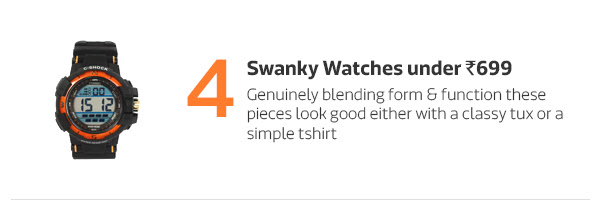 Swanky Watches under Rs.699