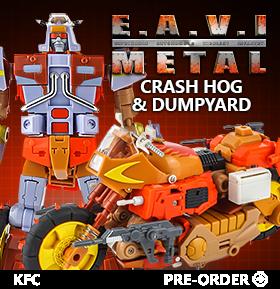 EAVI METAL PHASE SIX: CRASH HOG & DUMPYARD