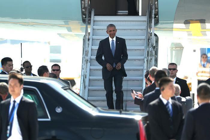 Obama, Trung Quốc, TQ, thang, thảm đỏ, ngoại giao, rắc rối