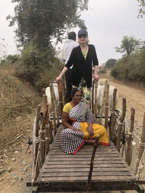 The Bullock Cart Lady
