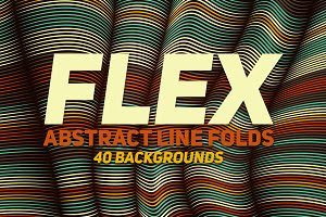 40 Flex Lines Backgrounds Part 3