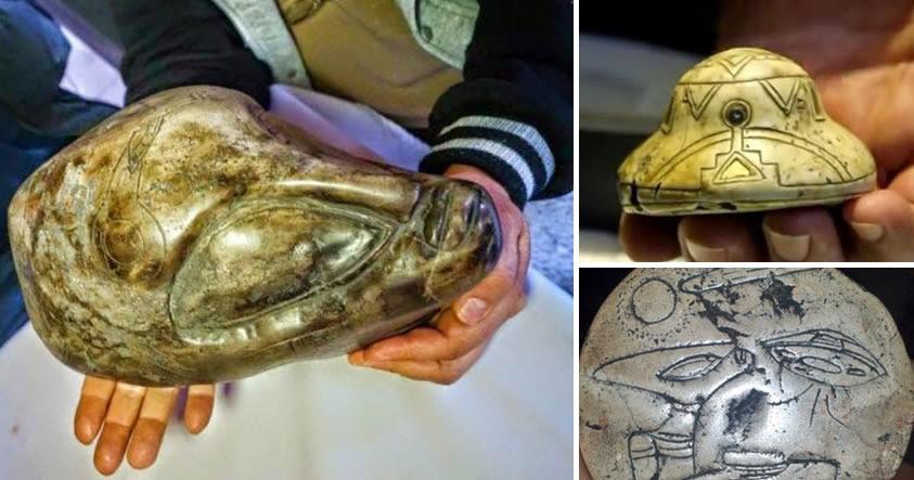 ¿Son estos antiguos artefactos aztecas evidencia de vida extraterrestre?