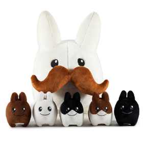 Labbit Stache Labbit with Littons Plush