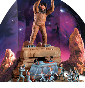 LOST IN SPACE CYCLOPS & THE CHARIOT MODEL KIT