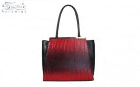 کیف دستی زنانه رنگ قرمز مدل7-528