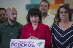 La salida de Teresa Rodríguez de Podemos desata una pugna con IU por el control político y orgánico de Adelante Andalucía