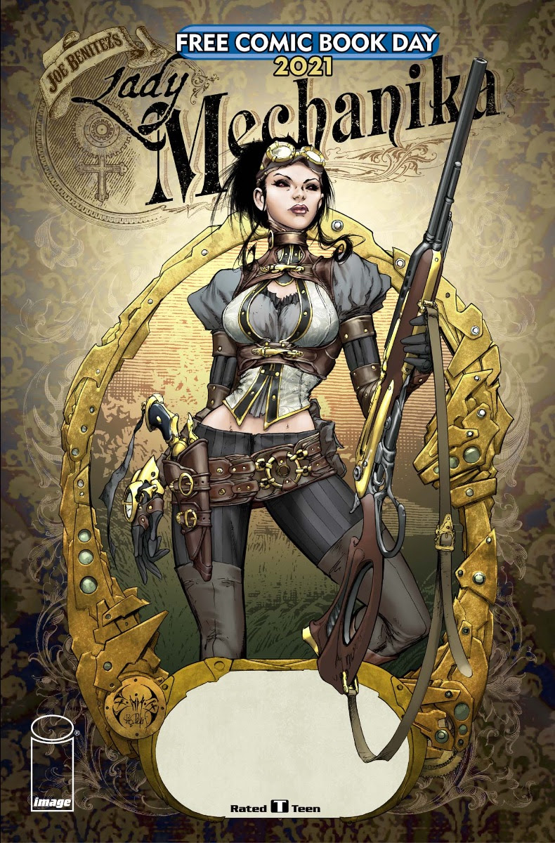 Lady Mechanika joins Image Comics