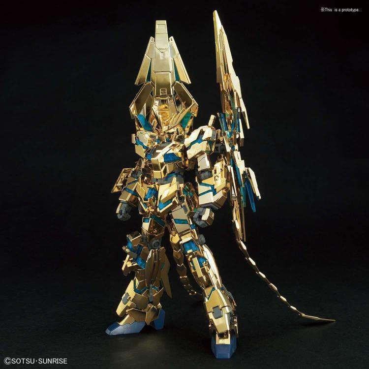 Image of Gundam HGUC 1/144 Unicorn Gundam 03 Phenex Destroy Mode (Narrative Ver.) Gold Coating Model Kit