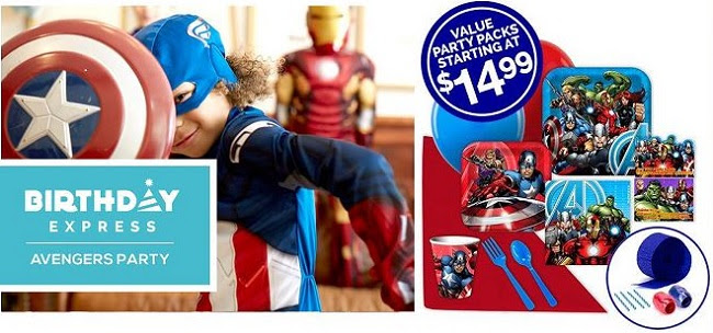 avengers age of ultron birthday party supplies