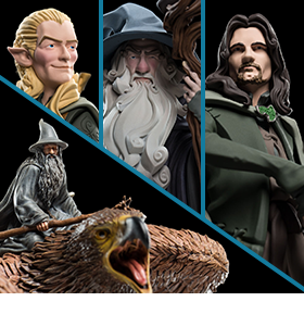 LORD OF THE RINGS MINI EPICS FIGURES