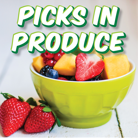 Picks in Produce