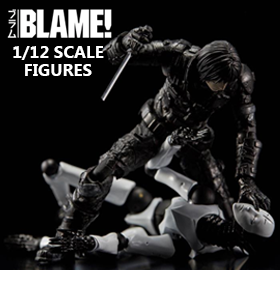 BLAME! 1/12 SCALE FIGURES