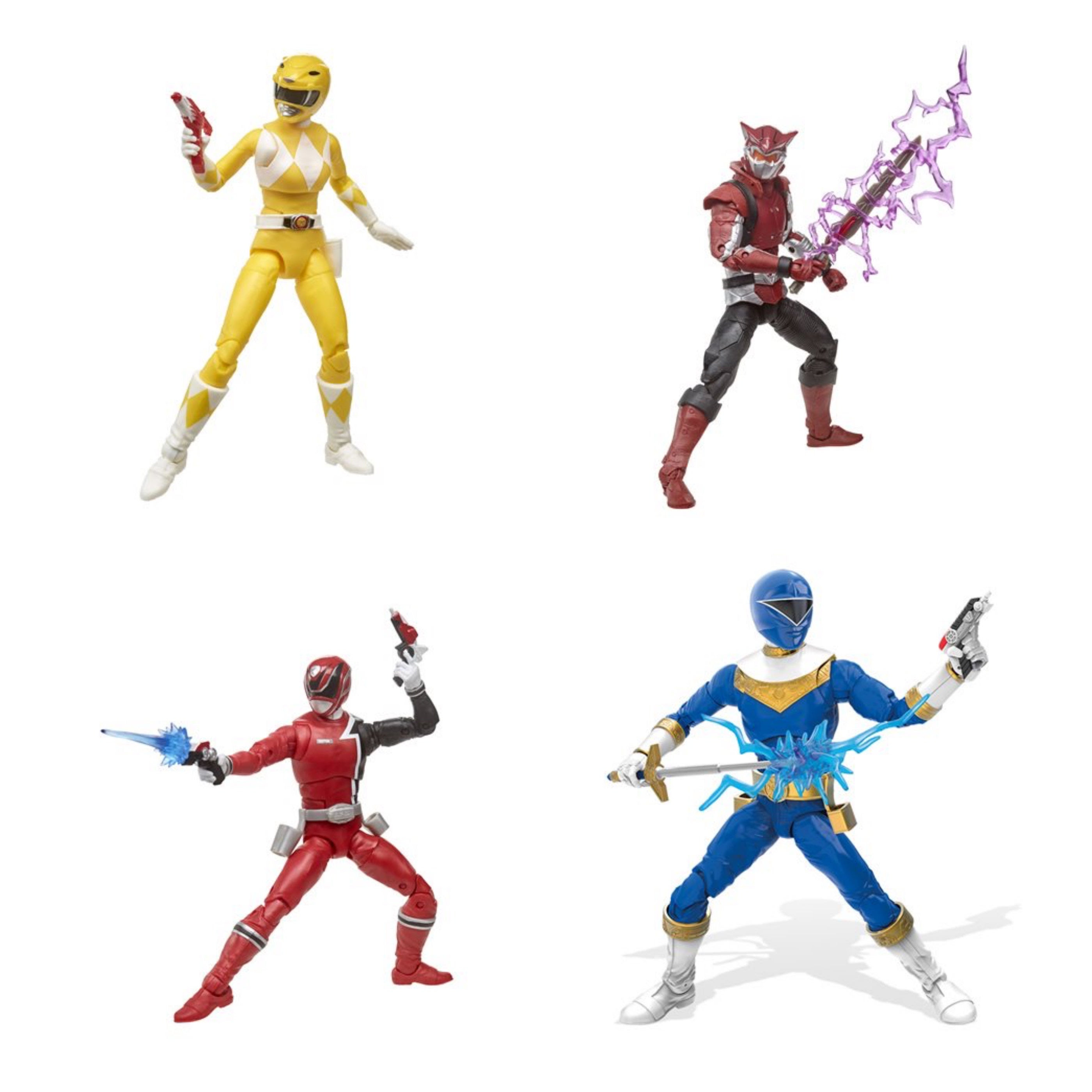 Image of Power Rangers Lightning Collection 6-Inch Figures Wave 4 - Set of 4