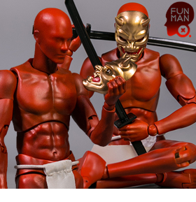 Pocket Elite Red Yashaman 1/12 Scale Body