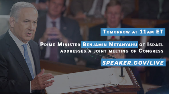 Watch Netanyahu's Address