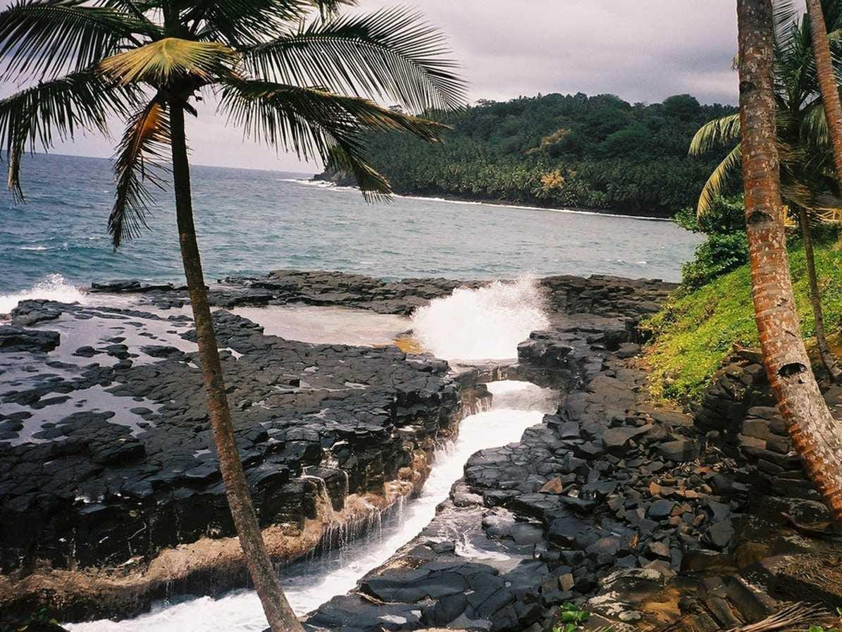 11. São Tomé and Príncipe: 10,000 tourists