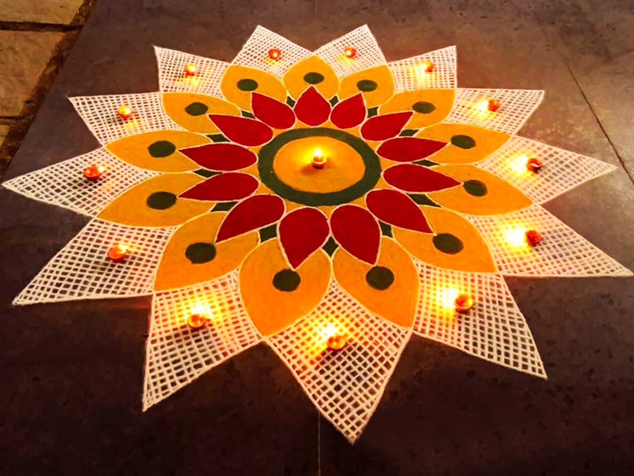 Prize Winning rangoli Designs