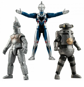 Ultraman Z ChoDo Chant My Name! Exclusive Set of 3 Figures