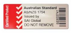 Car Restraint Safety Sticker 1754