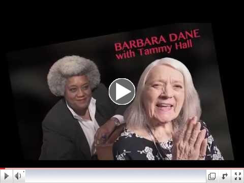 Barbara Dane with Tammy Hall,