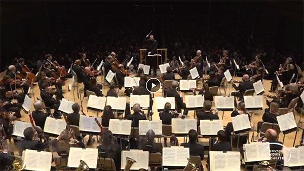 [Andris conducts Beethoven Symphony 5]