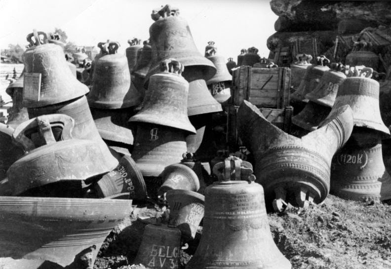 The seizing of Europe's bells