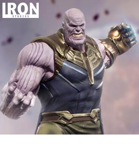 INFINITY WAR BATTLE DIORAMA SERIES THANOS 1/10 ART SCALE STATUE