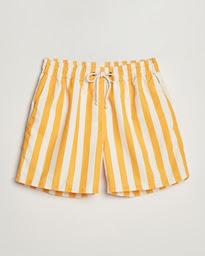 Paraggi Striped Swimshorts Yellow/White