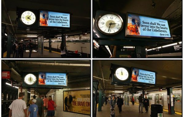 Image result for afdi subway clock ads