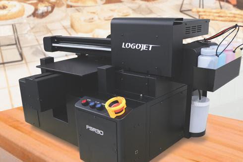 LogoJET announces new generation of food printers