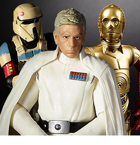 NEW HASBRO STAR WARS FIGURES AND MORE