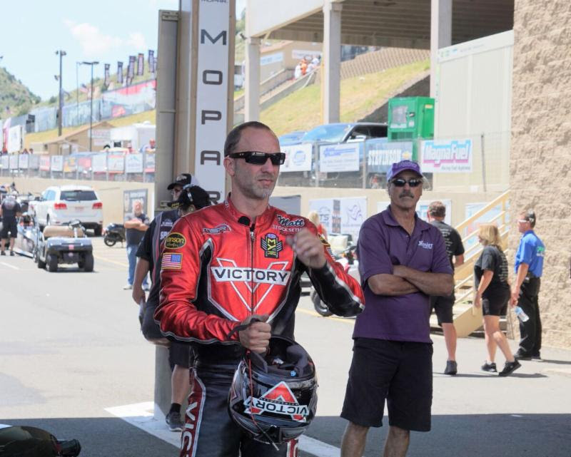Victory Motorcycles rider Matt Smith knows the Countdown is the time to 'get hot'