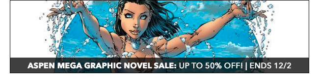 Aspen Mega Graphic Novel Sale: up to 50% off! | Ends 12/2