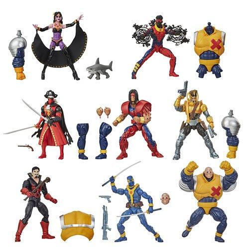Image of Deadpool Marvel Legends 6-Inch Action Figures Wave 3 (Strong Guy BAF) - Set of 7 - OCTOBER 2020