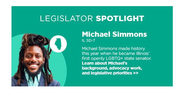 Legislator Spotlight: Michael Simmons, IL SD-7