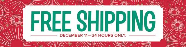 Free Shipping Offer December 11, 2017 ...#stampyourartout #stampinup - Stampin' Up!® - Stamp Your Art Out! www.stampyourartout.com