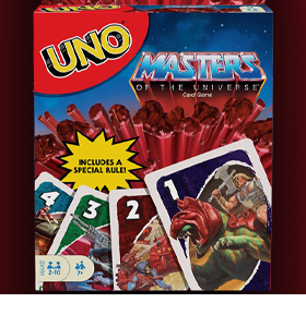 Masters of the Universe Origins UNO Card Game