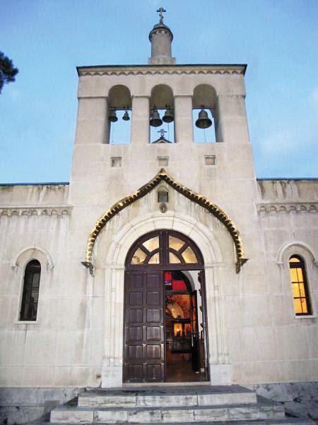 Колокольня Свято-Николаевского собора в Тегеране