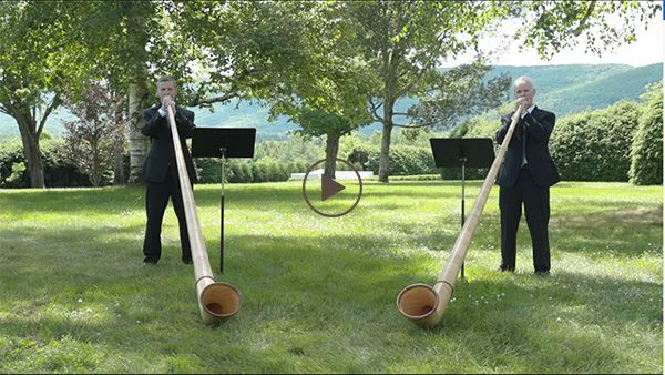 [Alphorn with Gus Sebring and Michael Winter]