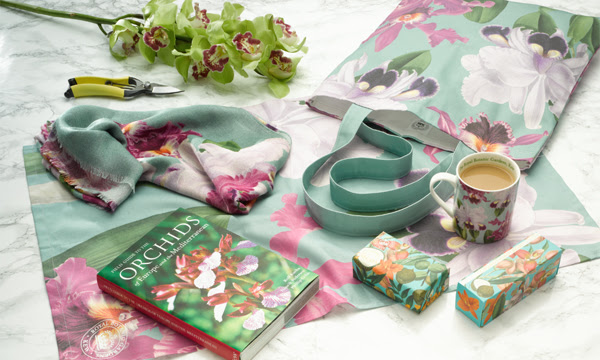 Image of orchid products in the Kew Shop