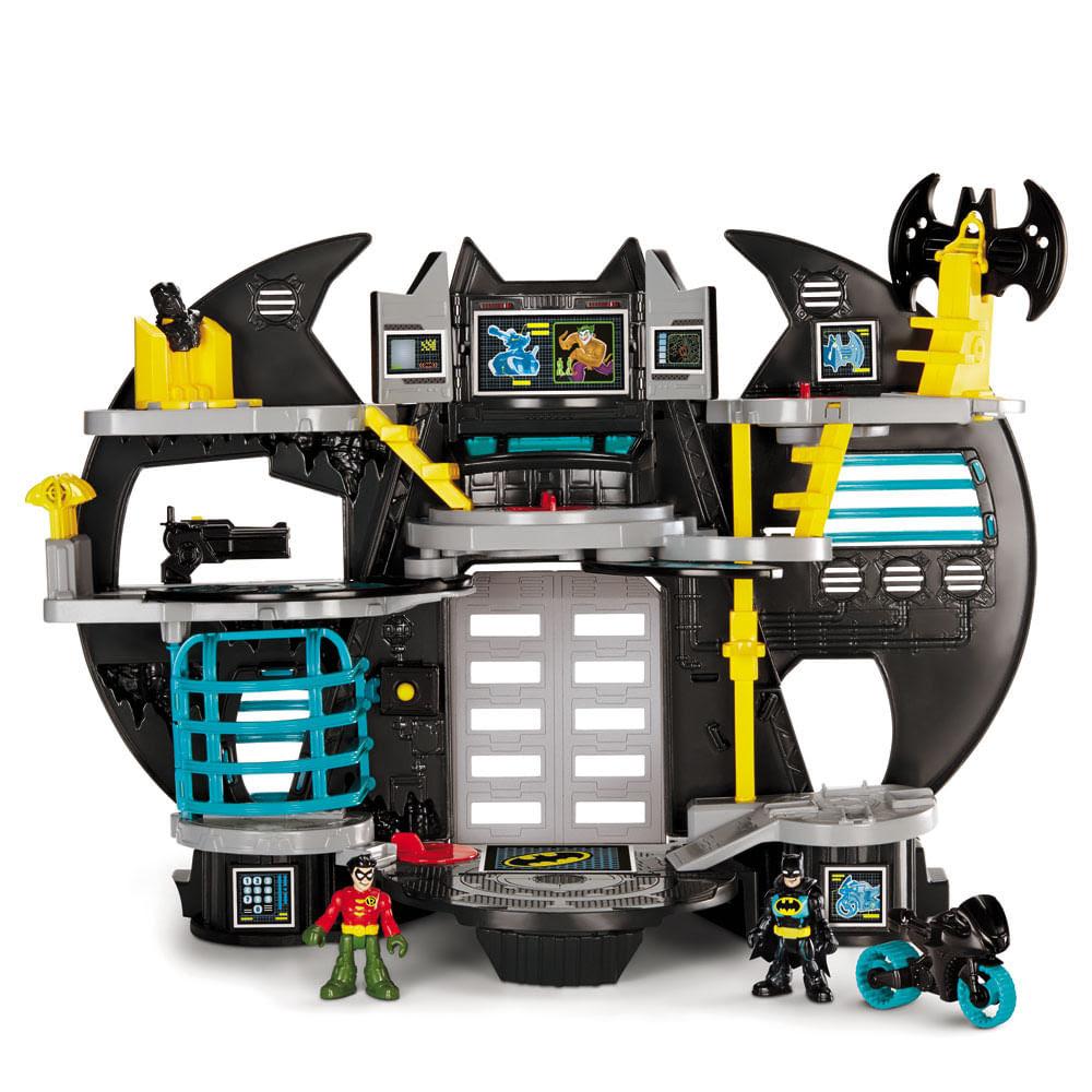 Imaginext DC Super Friends Nova Batcaverna - Mattel
