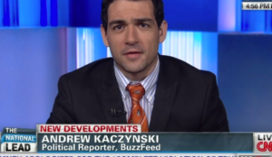 CNN's Andrew Kaczynski tries to destroy Congressman for having dinner with Belgian politician